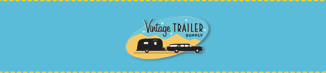 Dress up your vintage trailer with special Vintage Trailer Fabric by the yard!