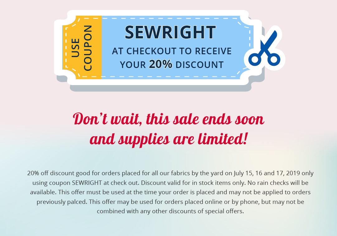 Don't wait, this sale ends soon